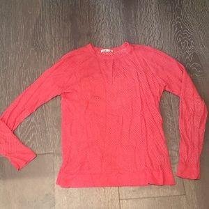 Marine Layer Sweaters - Marine Layer dark pink lightweight sweater